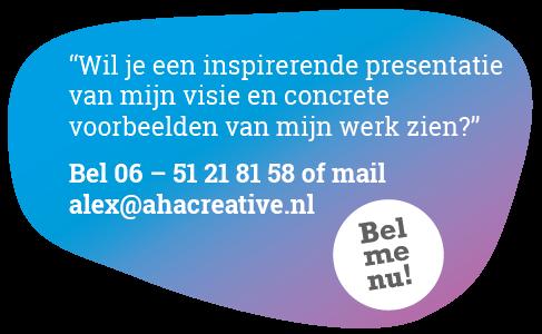 Aha Creative | Ervaring